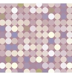 fabric circles abstract seamless pattern vector image