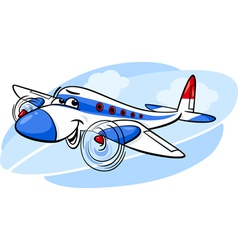 Air plane cartoon vector