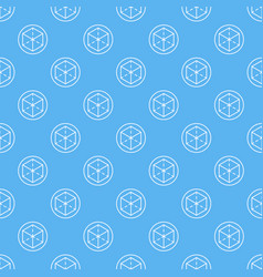 Ar blue seamless pattern or background vector