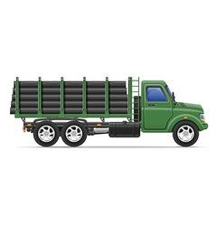 Cargo truck concept 12 vector