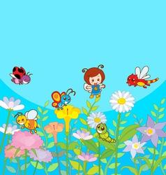 Happy Garden vector