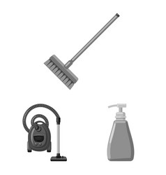 Isolated object of cleaning and service symbol vector
