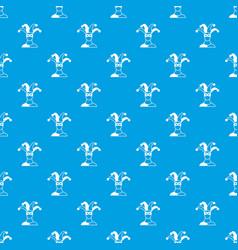 Jester pattern seamless blue vector