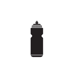 Sport bottle water solid icon hydro flask vector