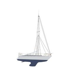 Water Boat Sailboat vector image vector image