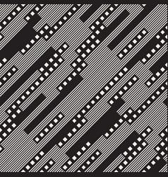 Modern stylish halftone texture with random size vector