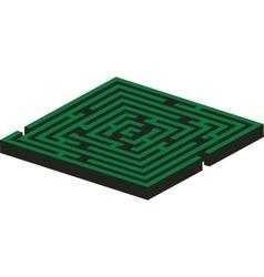 Maze 02 color vector image