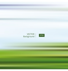 Abstract blue green striped and blurred background vector