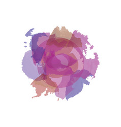Asbstract color splashes in violet colors vector