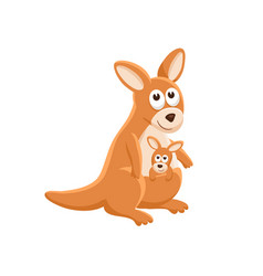 cartoon baby animal isolated vector image