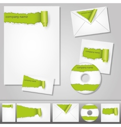 Corporate design vector