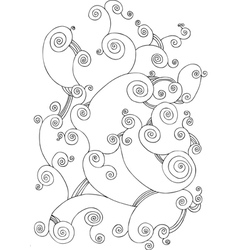 Decorative ornament vector image