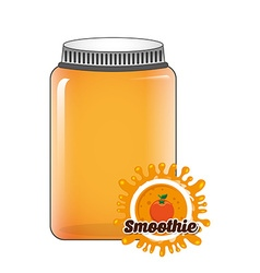 delicious smoothie vector image