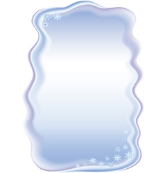 Frame for congratulations on Christmas vector