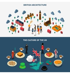 Great Britain Banners Set vector image