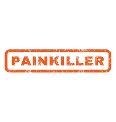 Painkiller Rubber Stamp vector image
