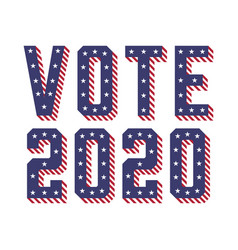 United states america usa elections vote 2020 vector