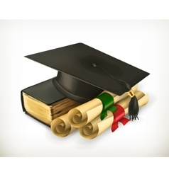 Education and Training icon vector image vector image