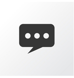 chat icon symbol premium quality isolated message vector image