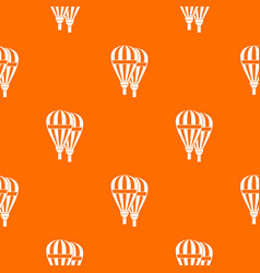 balloons pattern seamless vector image