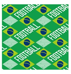 Brazilian seamless pattern vector image