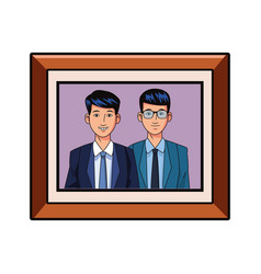 Businessmen avatar profile picture vector