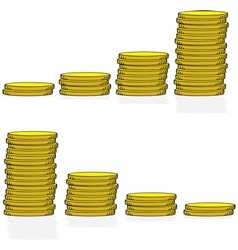 Coin graphs vector