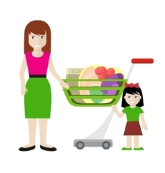 Customer Characters vector image