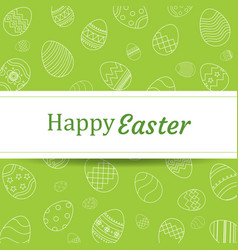 Happy easter egg background and wallpaperscan be vector