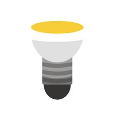 light bulb in cartoon style idea vector image