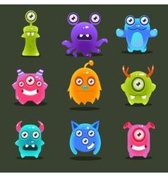 Monsters Lovely vector image