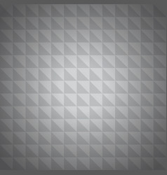 Silver triangle background vector