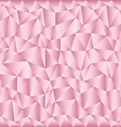triangular pink background vector image