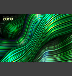 wavy abstract background lines in motion vector image