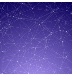Wireframe Technology Background Chemistry vector image