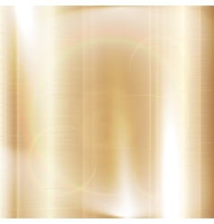 gold background metal texture vector image