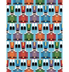 nutcracker pattern vector image vector image