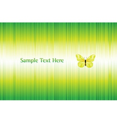 Bright Background With Butterfly vector image