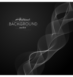 Abstract light white wave vector image