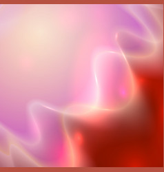 abstract red and pink wavy background vector image