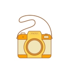 Camera Isolated on a white background vector