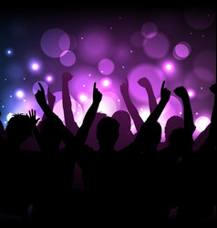 Concert or club background vector
