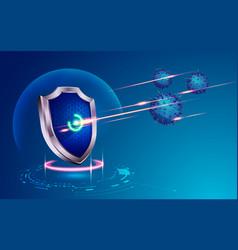 Cybershield vector