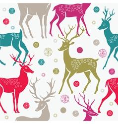 Deer background vector