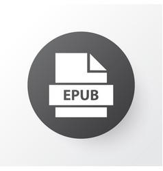 Epub icon symbol premium quality isolated vector