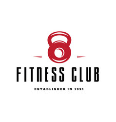 fitness emblems signs labels badges logos and vector image