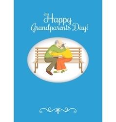 Grandparents Day design element vector