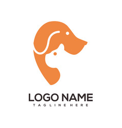 Modern animal logo and icon vector