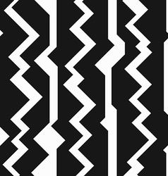 Monochrome totem seamless pattern vector