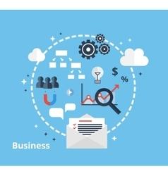Online business concept vector